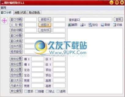 雨轩编程助手 1.1中文免安装版