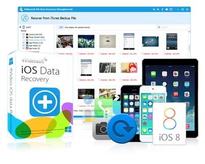 苹果iOS数据恢复软件工具[4Videosoft iOS Data Recovery] v8.0.5.0 正式安装版