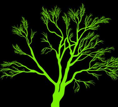 植物剪影photoshop笔刷插件 1.0绿色版